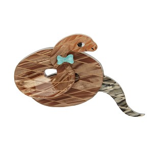 Theodore The Trim Taipan Brooch By Erstwilder