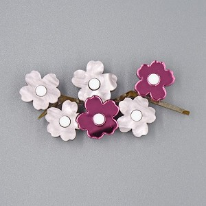 Cherry Blossom Brooch By Tantalising Treasures