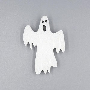 VERY Scary Ghost Glitter Brooch By Martinis & Slippers