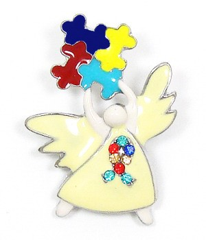 Autism Angel Pin