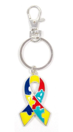 Awesome Autism Keychain