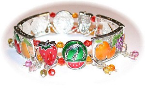 Fruit cup Jewelry Set