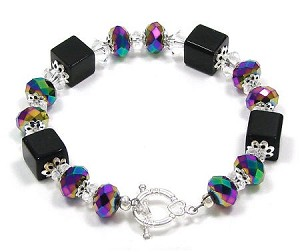 For Your Little Black Dress Bracelet
