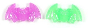 Glow Acrylic Bat Pony Beads