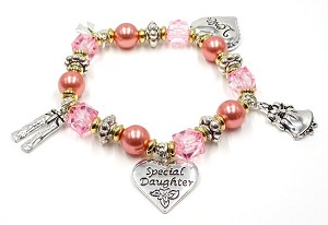 A Special Daughter Charm Bracelet