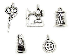 3D Sewing And Quilting Charms