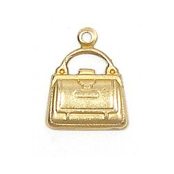 Purse Charm Brass
