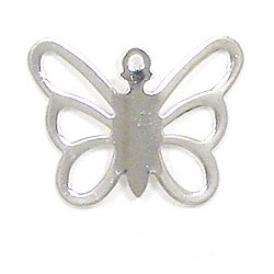 Butterfly Charm Silver