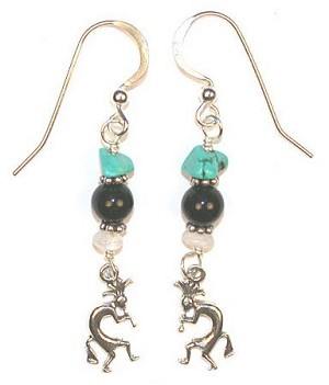 Kokopelli's Gift Earrings