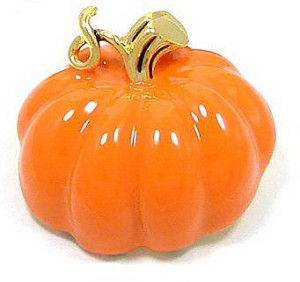 Fantastic Pumpkin Pin Or Pendant