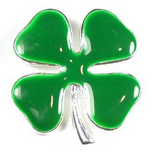 Large Four Leaf Clover Pin