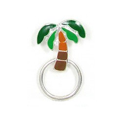 Palm Tree Glasses or ID Badge Pin
