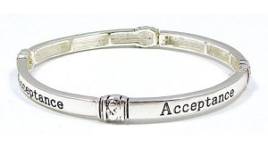 Acceptance Stackable Bracelet