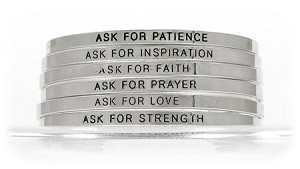 Ask For It Bracelets 6 Sayings To Choose From