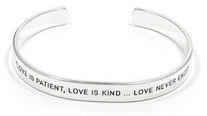 Love Is Patient Cuff