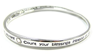 Count Your Blessings Mobius Bracelet