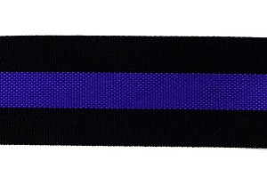 Thin Blue Line Ribbon 1.5 Inch Wide By The Yard