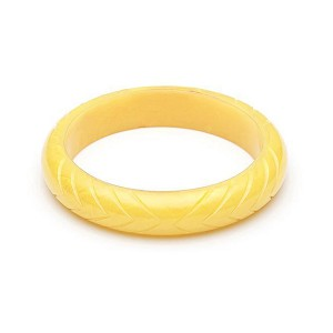 Midi Lemon Fakelite Bangle By Splendette
