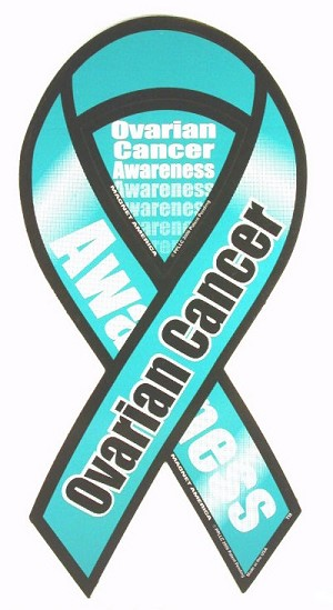 Ovarian Cancer Awareness Magnet