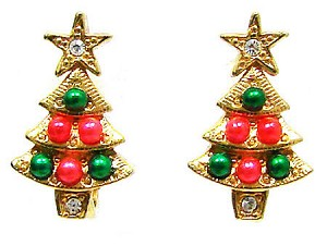 tree all wired up large earrings christmas index default jewelry