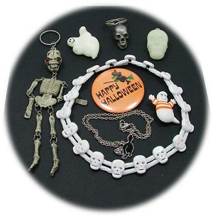 Vintage Lot Of Halloween Jewelry