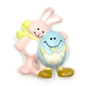 Vintage Easter Buddies Rabbit And Egg Pin By Current
