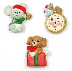 Vintage Hallmark Christmas Critter Pins Pick Your Style