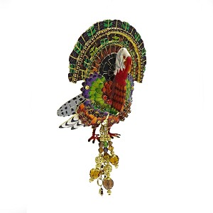 Amazing Tom Turkey Pin Pendant By Lunch At The Ritz LATR