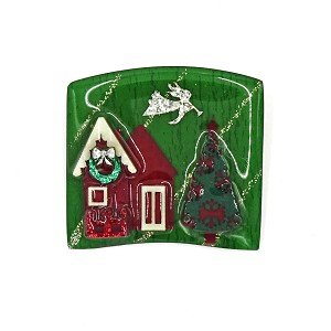Lucinda Christmas House Pin Angel With Trumpet