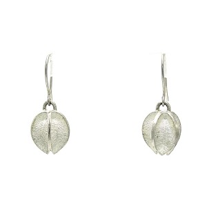 Silver Seed Pod Earrings Earrings
