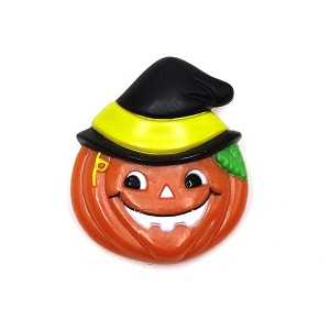 Vintage Witchy Pumpkin Pin By Russ