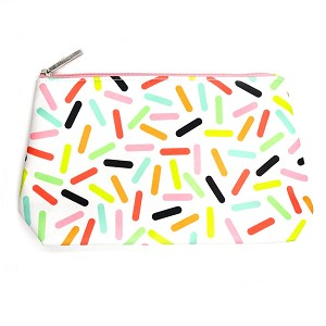 Multi-Colored Candy Sprinkles Cosmetic Bag By Clinique