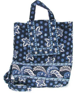 8ab39e7cde Vera Bradley Blue Coin Mini Backpack