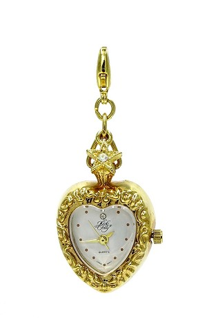 Kirks Folly Add A Charm Heart Watch