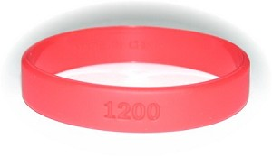 Anti Tobacco Wristband-Small Irregular On Clearance