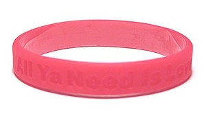 Disaster Relief- All Ya Need Is Love Wristband - CLEARANCE