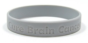Cure Brain Cancer Wristband-Small