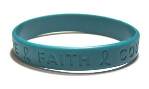 Inspirational Teal Wristband
