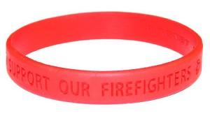 Firefighter Support Wristband
