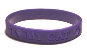 I Love My Cat Wristband