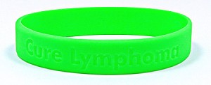 Cure Lymphoma Wristband- IRREGULARS-Sold out