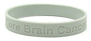 Cure Brain Cancer Wristband-Adult