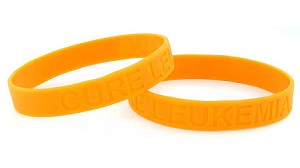 Cure Leukemia Wristband