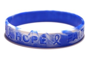 Blue And White Wristband-Small