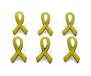 Priced Right Yellow Ribbon Tie Tack Pin