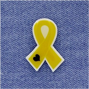Survivors Of Suicide Awareness Ribbon Pin