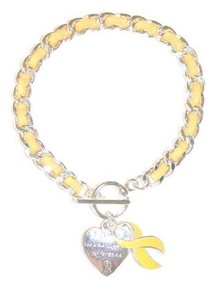 Yellow Make A Difference Bracelet - SOLD