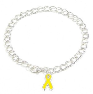Yellow Ribbon Support Bracelet
